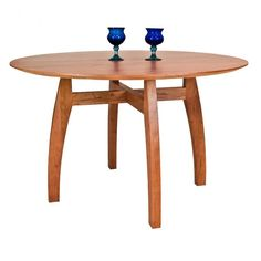 Vermont Modern Pedestal Table from Vermont Woods Studios
