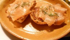 crostini salmone gorgonzola e mascarpone