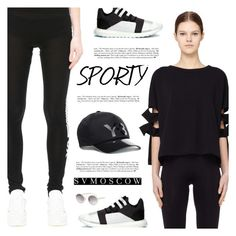 """""""SVMOSCOW"""" by defivirda ❤ liked on Polyvore featuring Y-3, women, fashionset and svmoscow"""