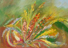 Tous droits réservés Painting,  50x70x2 cm ©2014 par Myriam Courty -  Peinture
