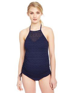 0d0ac225bbbeb Crochet Halter Maternity Tankini Swimsuit. Maternity Two PieceMaternity  TankiniTwo PiecesSwimsuitBathing SuitsSwimwearSwimsuitsSwim Dress