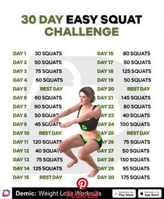 Simple rules for your body to get slimmer! Just 30 days challenge will help yo - Simple rules for your body to get slimmer! Just 30 days challenge will help yo Simple rules for your body to get slimmer! Just 30 days challenge will help yo… – Best Workout Plan, Squat Workout, At Home Workout Plan, At Home Workouts, Workout Plans, Month Workout, 30 Day Workout Challenge, Body Challenge, 30 Day Splits Challenge
