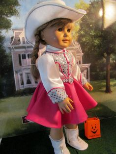 Cowgirl Costume just like Dale Evans wore  (on the Roy Rogers Show) for Halloween by fashioned4you