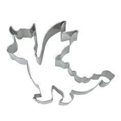 Misschien een beetje eng...maar wel lekker! Met deze draken uitsteekvorm bak je de spannenste draken.  Leuk om tijdens een feestje samen met de kindjes te versieren of juist om te trakteren op school! www.creakelder.nl
