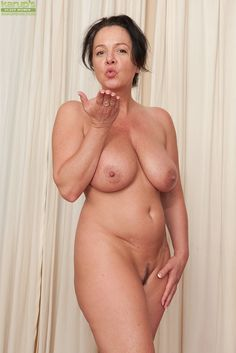Naked Lady with Landing Strip