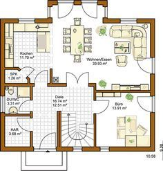 Rensch René Rensch (born 18 March 1969 in Kyritz) is a German rowing cox. Best House Plans, Dream House Plans, Modern House Plans, Model Homes, Future House, Building A House, Architecture Design, Floor Plans, House Design