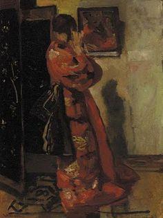 George Hendrik Breitner - In Front of the Mirror ~Repinned Via Lisa Ilan
