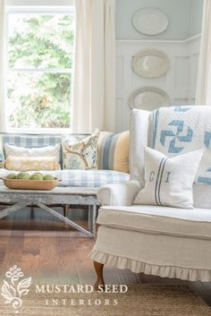 how to sew custom piping | slipcover series part 1