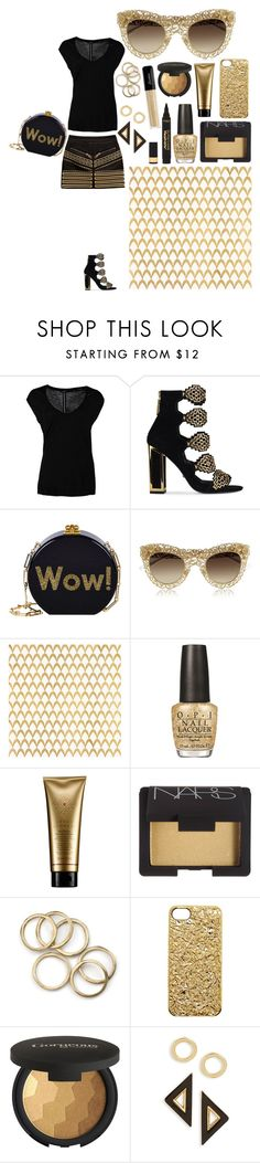 """Wow!"" by carolina-c ❤ liked on Polyvore featuring OPUS Fashion, Kat Maconie, Edie Parker, Dolce&Gabbana, Barclay Butera, OPI, Serge Normant, NARS Cosmetics, Marc by Marc Jacobs and Gorgeous Cosmetics"