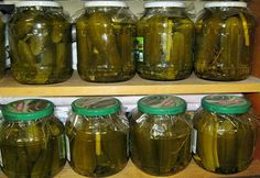 Uborka télre - a legegyszerűbb Ketchup, No Bake Cake, My Recipes, Preserves, Pickles, Cucumber, Mason Jars, Canning, Food