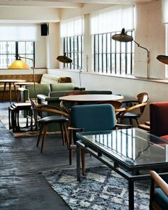 A Bright Workspace | Shoreditch House