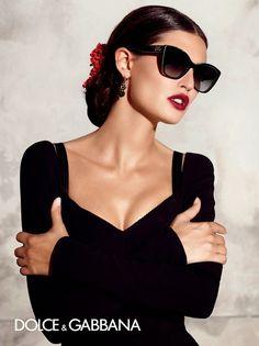 Bianca Balti for Dolce & Gabbana Eyewear S/S 2015 #sunglasses http://www.smartbuyglasses.com/designer-sunglasses/Dolce-&-Gabbana/Dolce-&-Gabbana-DG4217-DNA-Polarized-2789T3-220563.html?utm_source=pinterest&utm_medium=social&utm_campaign=PT post