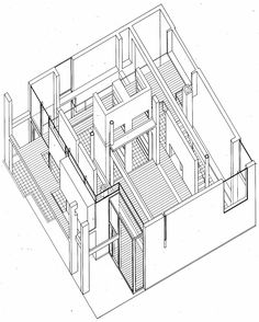 Eisenman, Peter  > House I, 1967