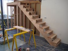 Basic Wooden Stairs