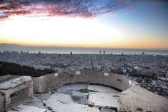 El Turó de la Rovira - this old military bunker overlooking the city offers some of the best views of Barcelona.