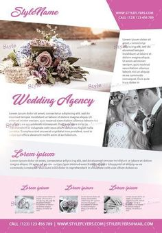 Wedding Flyer Templates Free Download In Psd Format  Flyer