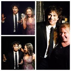 BTS of Last shoot for DELENA and Nina's departure from TVD