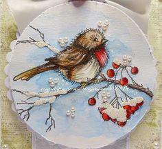 Image result for stampendous stamp robin redbreast