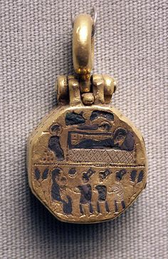 pendant (?), gold, Byzantine by Atelier Sol,