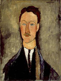 Leopold Survage  Modigliani, 1918 - Google Search