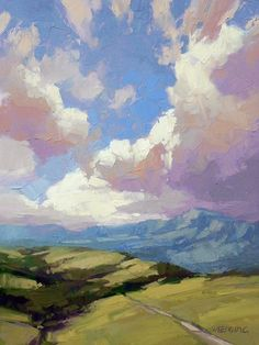 David Mensing is a impasto landscape artist painting Southwestern and Western oil paintings at Canyon Road Contemporary Art in Santa Fe, New Mexico. Sky Painting, Painting & Drawing, Cave Painting, Painting Lessons, Cloud Art, Paintings I Love, Tree Paintings, Pastel Paintings, Portrait Paintings