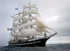 Belem - Europe's oldest (1896) and France's most prestigious tall ship.