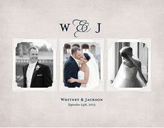Our Promise: Wedding Album 8x11 Photo Book - Gonna use this for the album