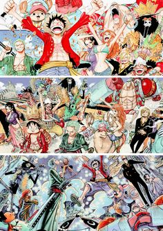 wjhat - baeyuries: one piece color spread: adventure in...
