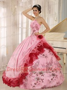 http://www.dressforquinces.com/clearance-quinceanera-dresses-c-84.html  Exclusive Button up Quinceanera dress on Midsummer's Day 2015