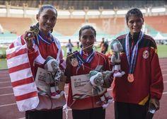 Pada lari 5000 meter putri #PON2016, Rini Budiarti (DKI Jakarta) meraih medali emas setelah mencatatkan waktu tercepat 17 menit 1,60 detik sedangkan perak diraih Triyaningsih (DKI Jakarta) dengan catatan waktu 17 menit 10,48 detik dan perunggu diraih atlet Sumbar Yulianti Utari dengan catatan waktu 17 menit 38,31.