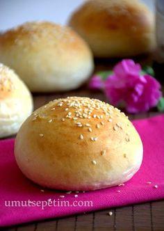 Burger Bread, Hamburger Menu, Bread And Pastries, Vegetable Drinks, Healthy Eating Tips, Burger Recipes, Bread Baking, Bakery, Food And Drink