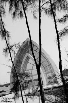 A Fantastic Crystal Church ~ Beimen District, Tainan City, Taiwan