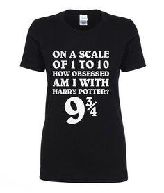 Hot Sale T shirt 9 3/4 Women T-shirt Deathly Hallows Hogwarts t shirts summer style woman short sleeve shirts cotton top tees