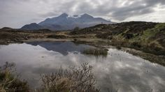Black Cuillin (Isle of Skye) Reflection by ~Spyder-art on deviantART  How I long to go there...