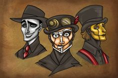 introducing steam powered giraffe. band with great music, who mime and dress up like they're run on clockwork