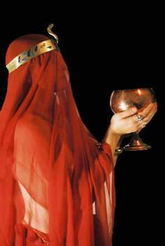 """""""BABALON! The manifestation of the Whore of the Scarlet Current, our lady of the magical power of the vibrations of the Serpent-Flame, unveiling the Gate of Infinite Space & Infinite Stars."""" - The Book of the Lovely Star, by Aleisterion"""