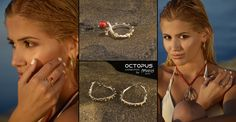 Ring - Earrings - Necklace OCTOPUS