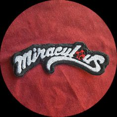 Miraculous Ladybug Sew On Patch Sew On Patches Miraculous Ladybug Ladybug