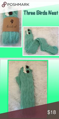 Boot Socks Boot socks in mint ...with lace an buttons nwot...G-2 Three Bird Nest Accessories Hosiery & Socks