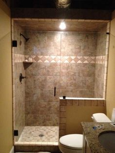 Bathroom Knee Wall source shower knee wall houzz. his bath includes a pull out drawer