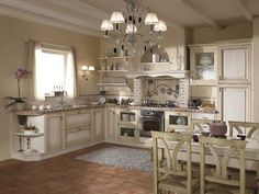 Cucina in muratura provenzale