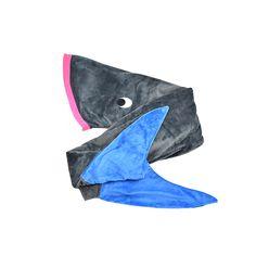 Sleeping Bag en forma de tiburón, que crea ambientes divertidos, seguros y tranquilos para los niños a la hora de dormir sintiéndose protegidos y cómodos con sus cobijas magicas.