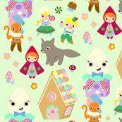 Kawaii Fairy Tale Fabric