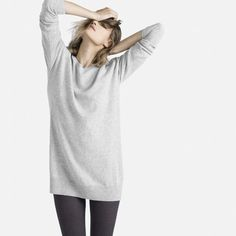 The Slouchy Cashmere Tunic - Everlane