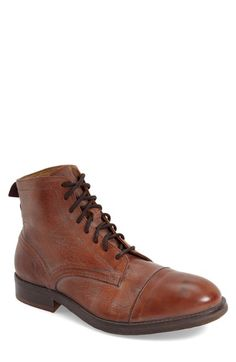 H by Hudson 'Palmer' Cap Toe Boot (Men)