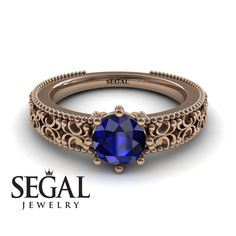 Rose Gold Engagement Ring by Segal Jewelry - March 10 2019 at Elegant Engagement Rings, Deco Engagement Ring, Designer Engagement Rings, Rose Gold Engagement Ring, Beautiful Wedding Rings, Wedding Rings Rose Gold, Bridal Rings, Gold Wedding, Wedding Band