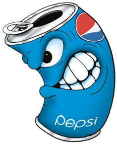 Pepsi Character I did for my Son's Birthday Cake.