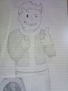 Vault guy from fallout