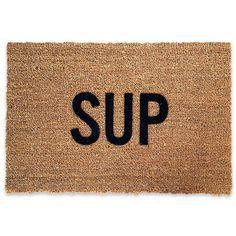 Sup Doormat |Shop Waiting on Martha | $55