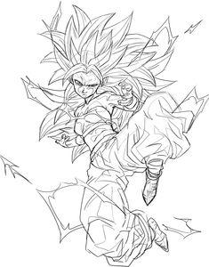 Dessin : Karifura Super Saiyajin 3